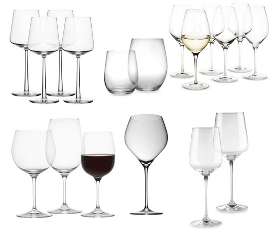 Don't skimp on glassware for your Be. Check out Apartment Therapy's collection of the best wine glasses of 2012.