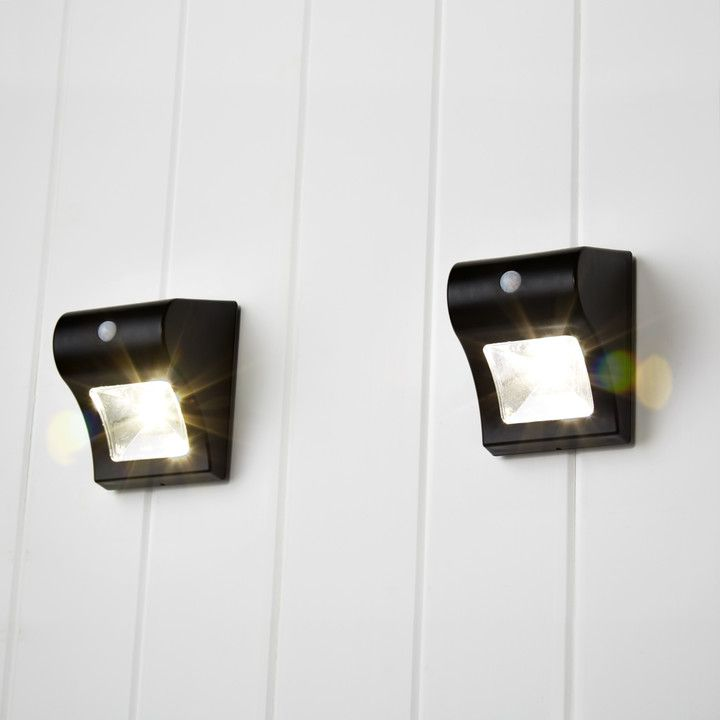 Our Onada Set Features Two Solar Wall Lights Each With Powerful