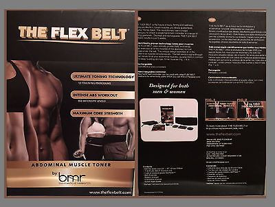Abdominal Exercisers 15274: Brand New The Flex Belt By Bmr Abdominal Toning Belt Abs Belt * -> BUY IT NOW ONLY: $118 on eBay!
