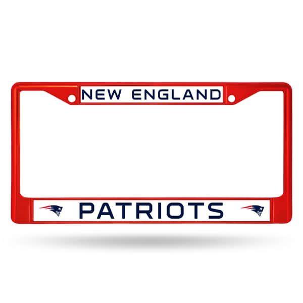 New England Patriots Nfl Red Color License Plate Frame Affiliatelink Patriots Fan New England Patriots Colors Nfl New England Patriots New England Patriots