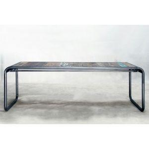 Java soffbord - återvunnet båtvirke - 140 cm