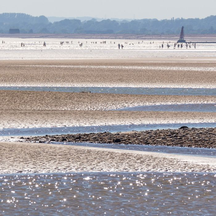 Camber Sands, East Sussex. Great for dog walking in the winter!!