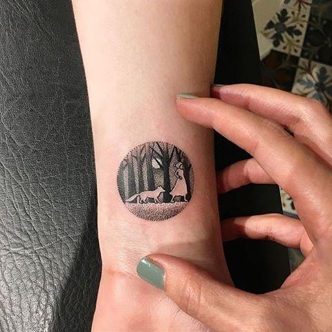 Little woodland tattoo