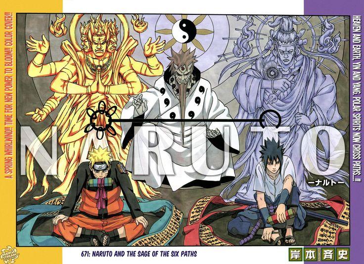 Naruto Chapter 671