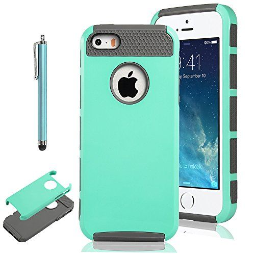 Pandamimi ULAK Aqua Fashion Case for iPhone 5 5S TPU + PC 2-Piece Style Soft Hard Cover with Free Screen Protector and Stylus ULAK http://www.amazon.com/dp/B00MN0BGX0/ref=cm_sw_r_pi_dp_vzsbub1CGE4Z4