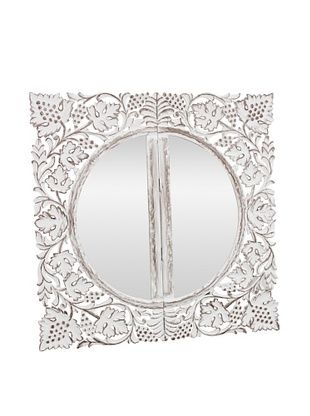 55% OFF Better Living Hand Carved Folding Book Mirror