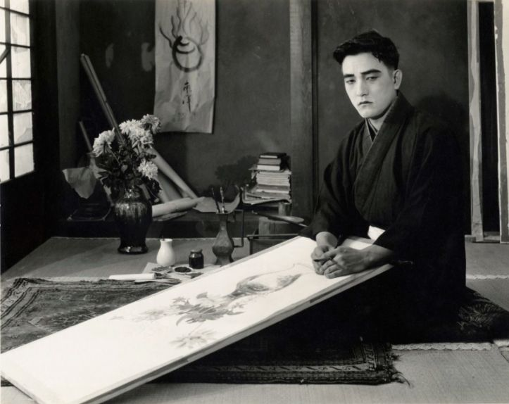 """fuckyeahsessuehayakawa: """" Sessue Hayakawa in The Dragon Painter (1919) """" He was the first Asian actor to become a star in American films."""