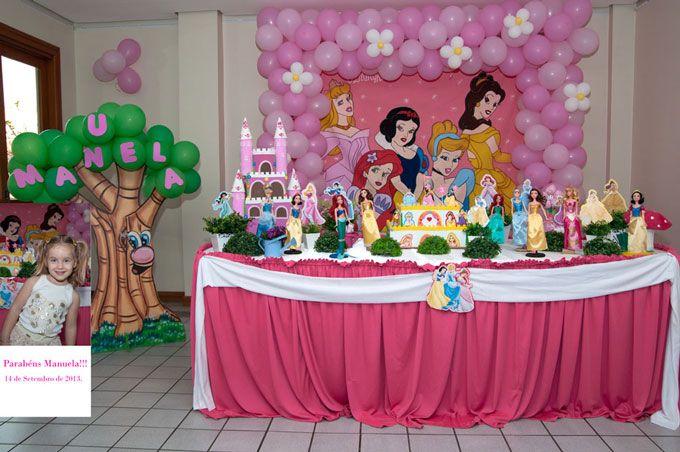 Aniversário da Manuela, 3 anos;