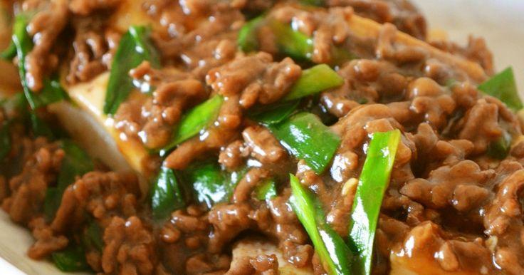 レシピ本&Yahoo掲載感謝♪すき焼き風の豆腐とひき肉でご飯のお供にぴったりです(*◔‿◔)❤