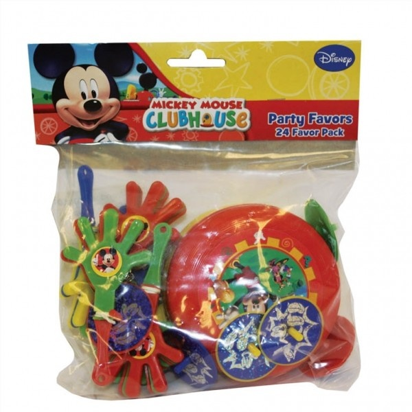 Fun Party Supplies - Children's Party Goods Mickey Mouse Party bag favours, party supplies, decorations, balloons and gifts, free delivery Children's party goods for boys and girls birthdays in Essex UK