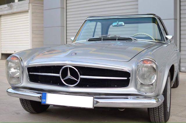 Αυτή η Mercedes 230 SL Pagoda είναι ότι καλύτερο θα δεις σήμερα