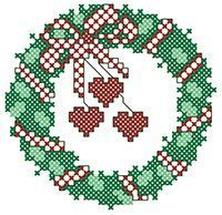 cross stitch christmas ornaments patterns - Google Search