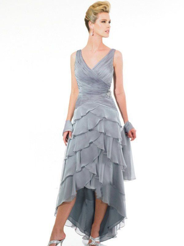 Asymmetrical Mother Of The Groom Dresses With Images Mothers