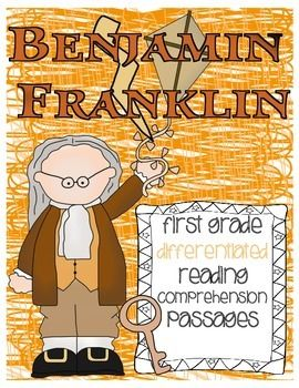 Going deeper into nonfiction texts is essential to student mastery of common core standards. Want ways to integrate social studies and science content into your nonfiction instruction, while differentiating for the needs of all learners? Look no further than these Benjamin Franklin differentiated reading passages and comprehension questions.