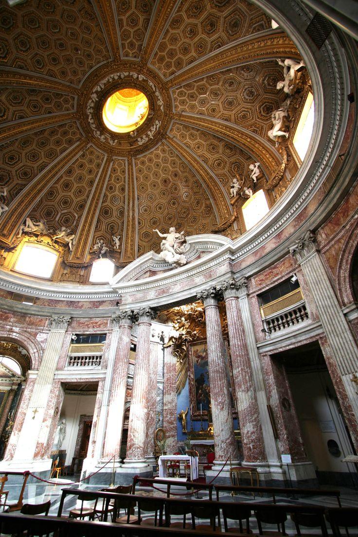 ARCHITETTURA BAROCCA: S. Andrea al Quirinale a Roma - Gian Lorenzo Bernini.
