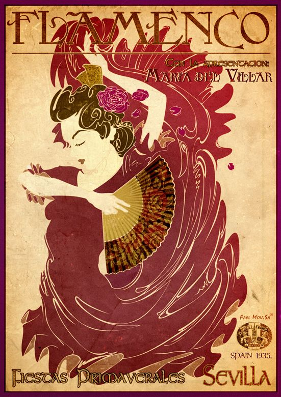 """""""Poster - Flamenco"""""""