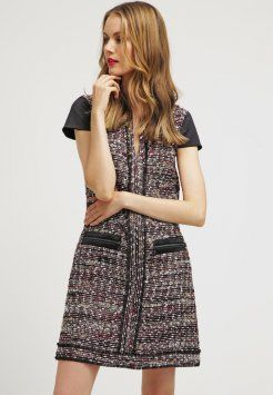 KARL LAGERFELD - SUZIE - Korte jurk - bordeaux
