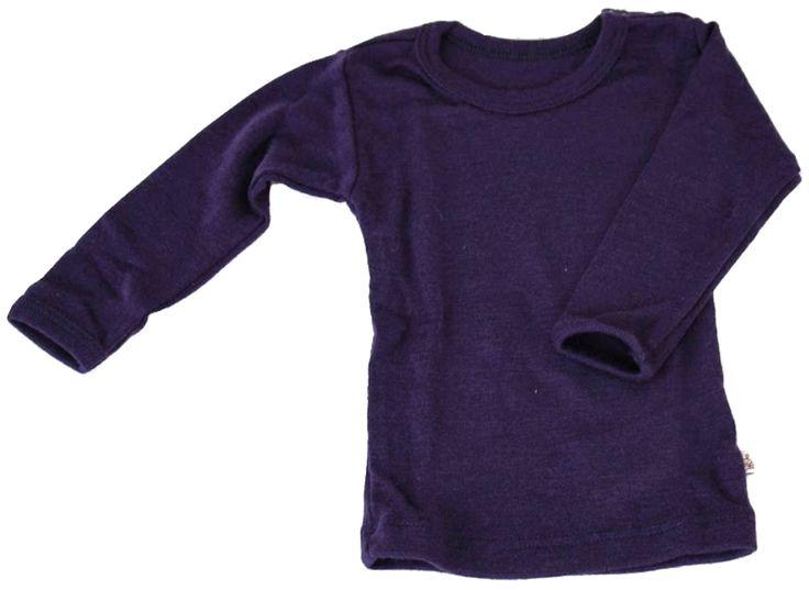 Kjøp CeLaVi Genser Langermet Ull Mørkeblå 100 | Barneklær Undertøy | Jollyroom