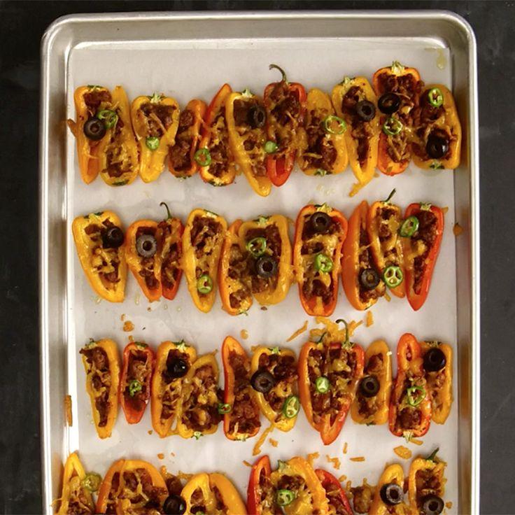 Bell Pepper Nachos | Healthy Recipes