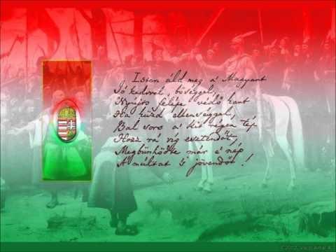 Himnusz  National-anthem of Hungary God Bless the Hungarians lyrics-Ferenc Kolcsey 1823 - music Ferenc Erkel 1844