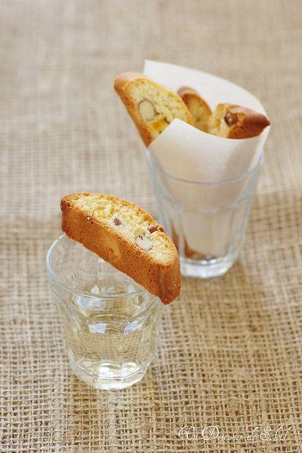 Cantucci de Sienne aux amandes et à la mandarine confite- un dejeuner de soleil