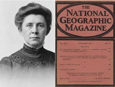 Crawford Messenger: Ida Tarbell's Influence on National Geographic Magazine