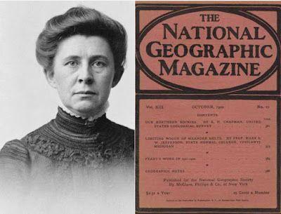 Crawford Messenger: Ida Tarbell's Influence on National Geographic Magazine