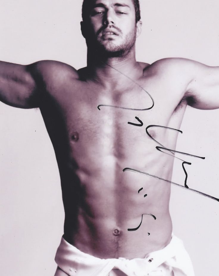 Taylor Kinney Autographed Signed 8X10 'Chicago Fire' Photo COA