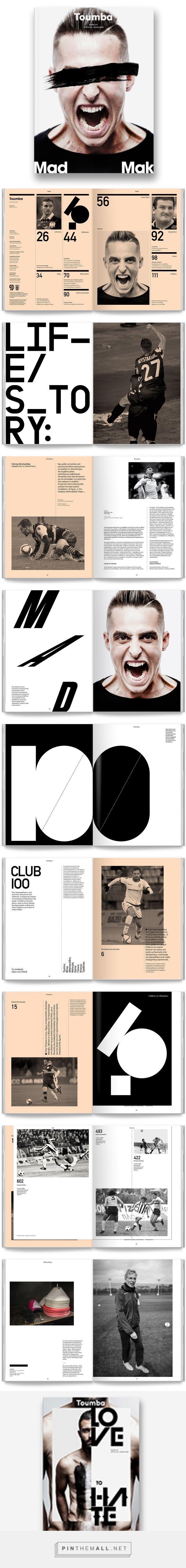 Toumba Magazine / Issue 3 on Behance - created via https://pinthemall.net