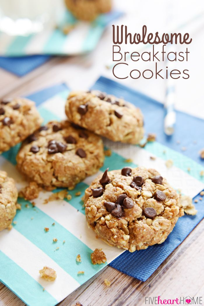 Wholesome Breakfast Cookies on MyRecipeMagic.com