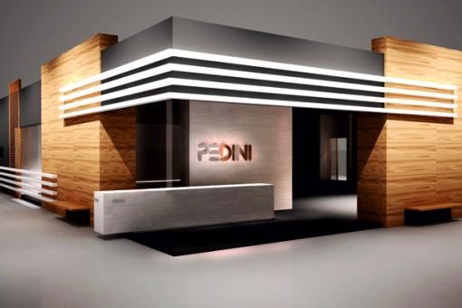 Pedini Cucine exhibition stand