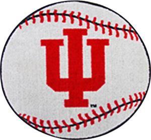Indiana University Baseball Schedule | fan-mats-indiana-university-baseball-mat.jpg