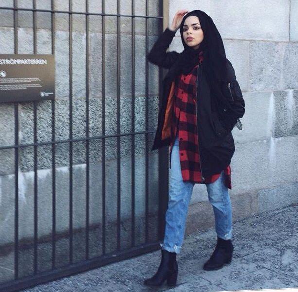 Mariammoufid #hijabfashion