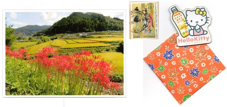 THX card - Arrived: 2014.12  ---   Manjushage flowers