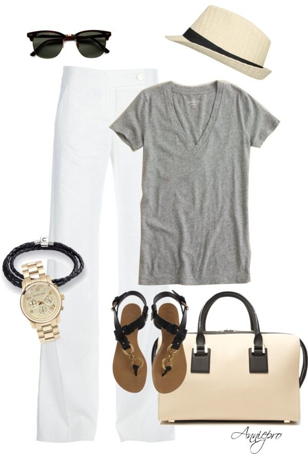 """Long Weekend , Down the Shore"" by anniepro on Polyvore"