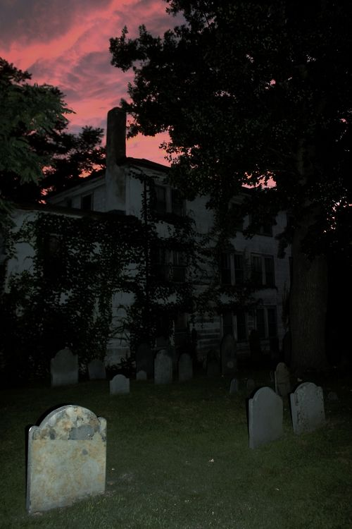 second oldest existing cemetery in the US. Salem, Mass.