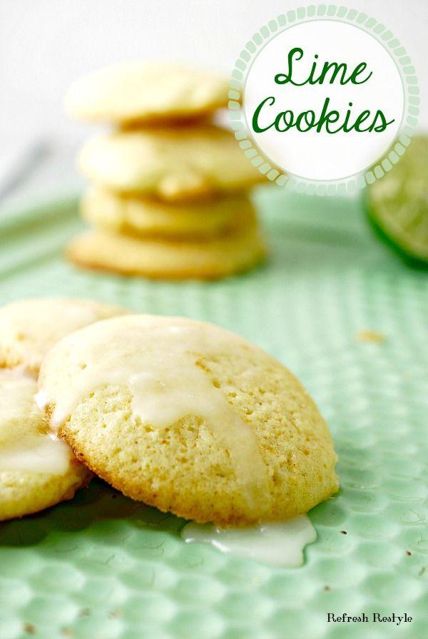 Yummy Lime Cookie Recipe #mondayfundayparty