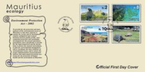 2006 Mauritius Stamps First Day Covers - FDC - Ecology