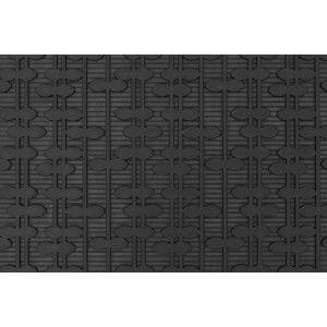 """Rubber doormat """"Bladrad"""" designed by Lill O. Sjöberg"""