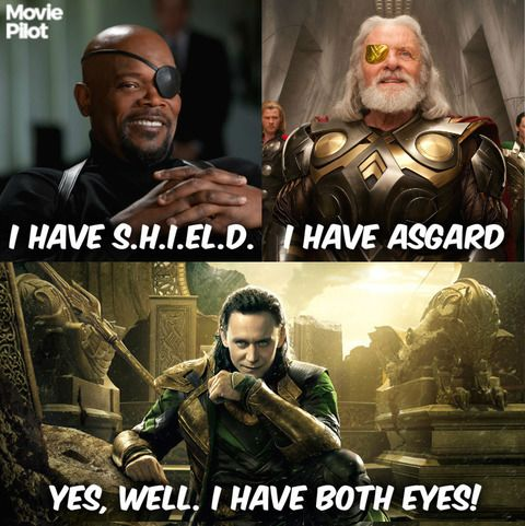 Low blow, Loki