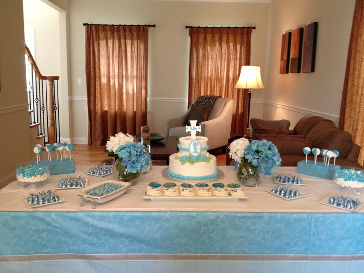 boys first  munion table party ideas   baptism