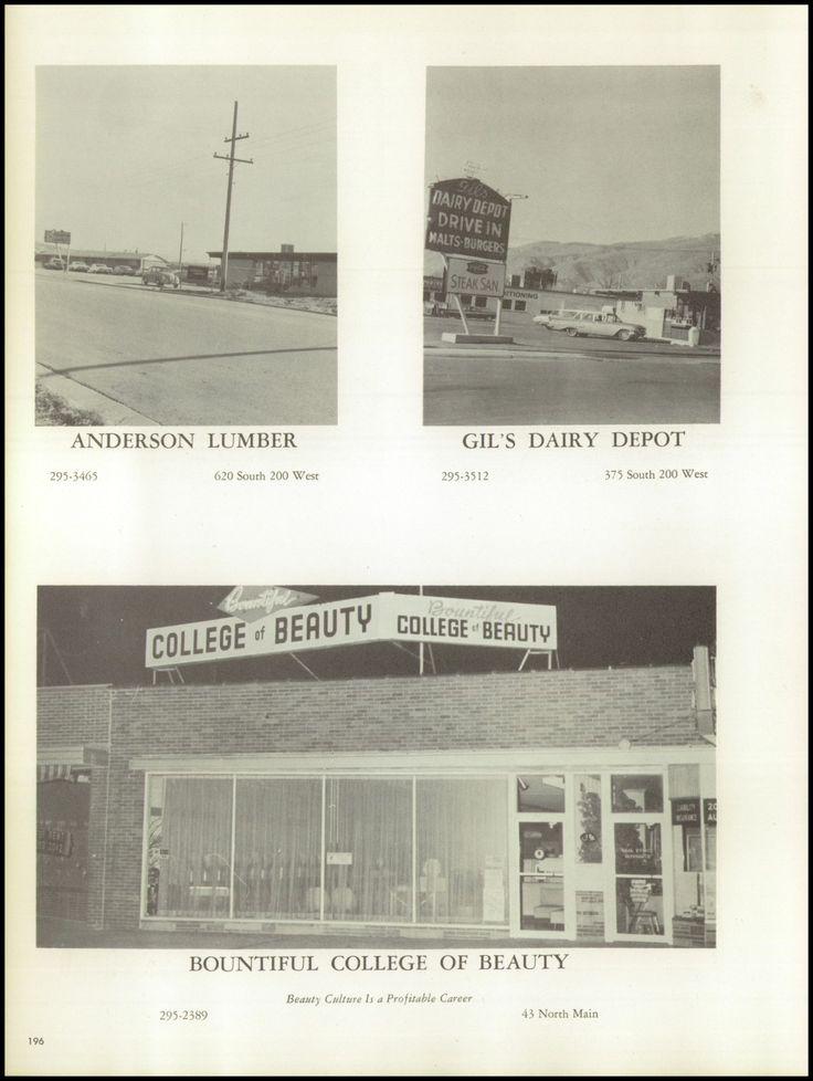 1966 Bountiful High School Yearbook via Classmates.com Pace's Dairy Ann