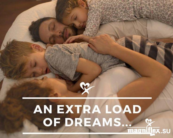 Чтобы Ваша семья видела хорошие сны - сон должен быть комфортным и расслабляющим. Magniflex - это именно то, что нужно Вашей семье!  #magniflex #magniflexrussia #матрас #подушка #кровать #магнифлекс #интерьер #мебель #отель #hotel #sleep #сон #спать #dream #bed #спальня #кровать
