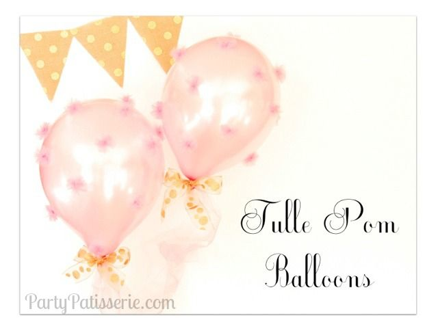 33 Best Tulle Amp Balloons Images On Pinterest Tulle