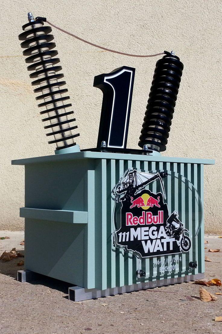 Red Bull - 111 MEGA WATT 2014 trophy
