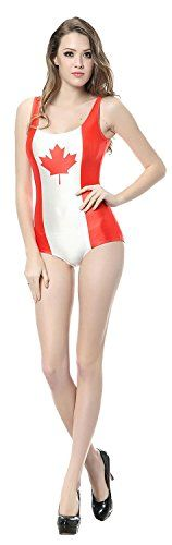 One-Pieces  ZKCostume Womens Flag Tankini Tight Stretch One Piece Swimsuit Monokini 1127 * This is an Amazon Associate's Pin. Detailed information can be found on Amazon website by clicking the image.