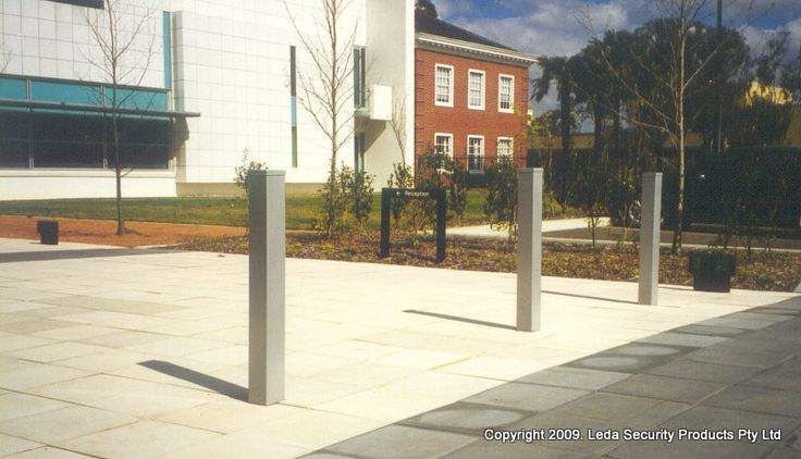 Photo in Square bollards - Google Photos