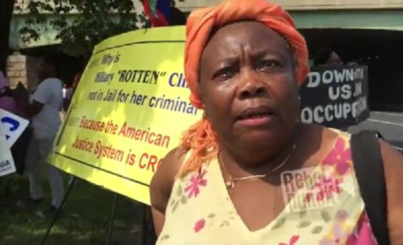 Haitians At DNC: Hillary Belongs In Jail For Stealing Money From Earthquake…