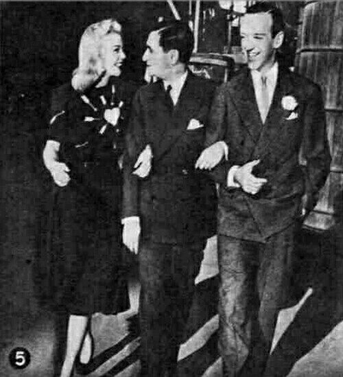 Ginger Rogers, Irving Berlin & Fred Astaire                                                                                                                                                                                 More