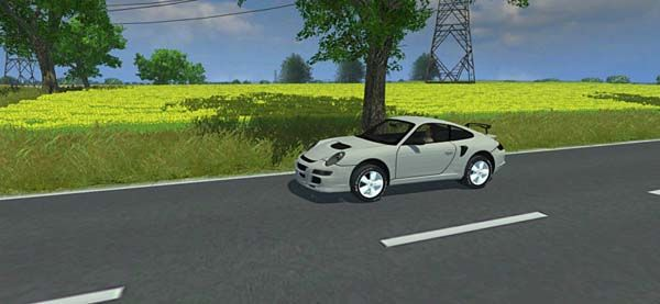 Farming Simulator 2013 Porsche 911 S65 Araba – Car Mod